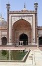 Delhi mosque Stock Photo