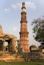 Delhi - Qutb Minar - India Royalty Free Stock Photography