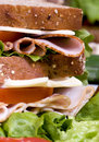 Deli Sandwich 008 Royalty Free Stock Photo