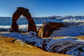 Delicate arch arches national park ut Stock Image
