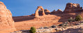Delicate arch view of delicat in arches national park utah Stock Photos