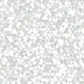 Delicate Grey and White Seamless Pattern of Symmetric Triangles.