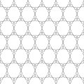 Delicate pattern in arabian style Royalty Free Stock Photo