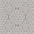 Delicate pattern in arabic style Royalty Free Stock Images