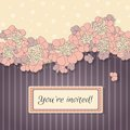 Delicate Vector Background Wit...