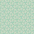 Delicate vector flourish seamless pattern Stock Photos