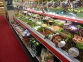 Delicatessen shop istanbul turkey october inside of suttes the most famous turkish in istanbul photo taken on october th Stock Photo