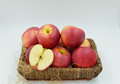 Delicious apple a lot of apples Royalty Free Stock Image