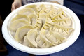 Delicious asian food dumplings Stock Photography