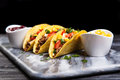 Delicious beef tacos Royalty Free Stock Photo