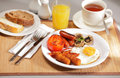 Delicious breakfast Royalty Free Stock Images