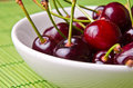 Delicious cherries Royalty Free Stock Image