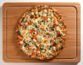 Delicious Chicken Pizza Royalty Free Stock Images