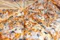 Delicious classic italian Pizza