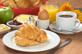 Delicious Continental Breakfast Royalty Free Stock Photo