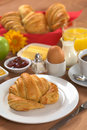 Delicious Continental Breakfast Stock Image