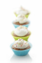 Delicious cupcakes Royalty Free Stock Images