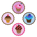 Delicious cupcakes Royalty Free Stock Image