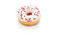 Delicious donut isolated on white background Stock Photography
