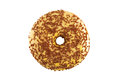 Delicious Donut with Sprinkles Isolated on White Background Royalty Free Stock Photo