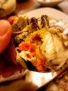 hairy crab Royalty Free Stock Photo