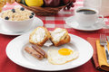 Delicious health breakfast Royalty Free Stock Photography