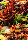 Delicious and Healthy Salad Royalty Free Stock Photo