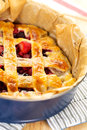 A delicious homemade fruit pie dessert Royalty Free Stock Images