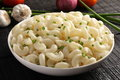 Delicious  Macaroni and cheese dish, Royalty Free Stock Photo