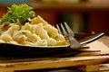 Delicious Macaroni pasta. Royalty Free Stock Photo