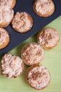Delicious Meringue Cupcake Royalty Free Stock Photo