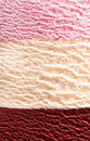 Delicious neapolitan ice cream close up Royalty Free Stock Photo