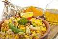 Delicious Paella Royalty Free Stock Images