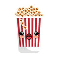 Delicious pop corn icon