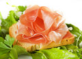 Delicious prosciutto Royalty Free Stock Images