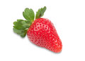 Delicious red strawberry on a white background Stock Photography