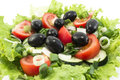 Delicious Salad with Olives