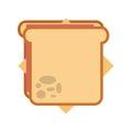 Delicious sandwish isolated icon