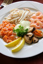 Delicious seafood Royalty Free Stock Photo