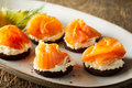 Delicious Smoked Salmon Canapes