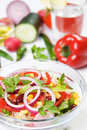 Delicious spring salad Royalty Free Stock Photos