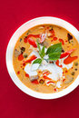 Delicious Thai food : soup Royalty Free Stock Photos