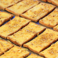 Delicious toast bread pile of Royalty Free Stock Photos