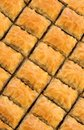 Delicious Turkish baklava Stock Image