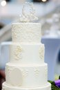 Delicious wedding cake Royalty Free Stock Photo