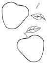 Delightful garden - Triangular construct apple