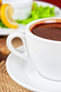 Deliicous coffee closeup cup photo Royalty Free Stock Photos