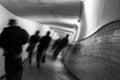 Delirium ekw hallucinations in tunnel Stock Photography