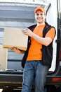 Delivery boy Royalty Free Stock Photo