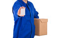 Delivery man. Royalty Free Stock Photo